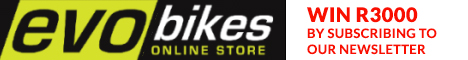Subsribe to Evobikes.com and win R3000