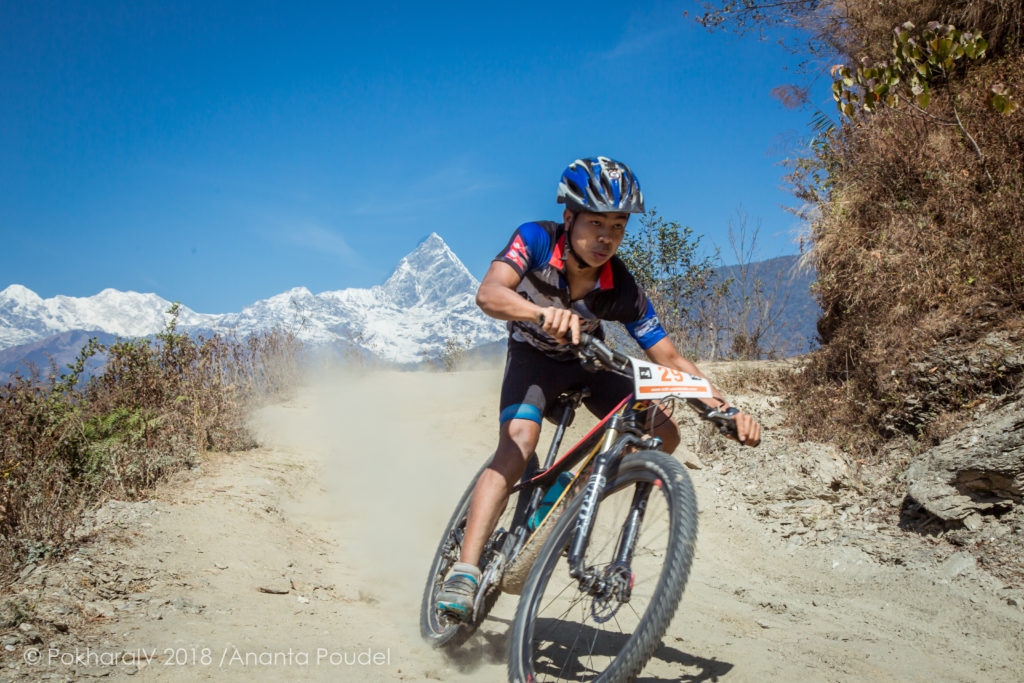 PokharaIV mountain bike race