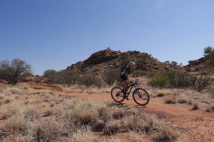 The Redback MTB stage race